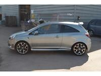 2014 64 VAUXHALL CORSA 3dr Hat 1.6t Vxr in Silver Lake
