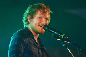2 Ed Sheeran tickets for Thursday August 30 Rogers Centre
