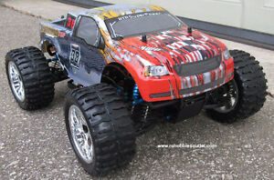NEW RC MONSTER TRUCK  PRO BRUSHLESS ELECTRIC  1/10 Scale