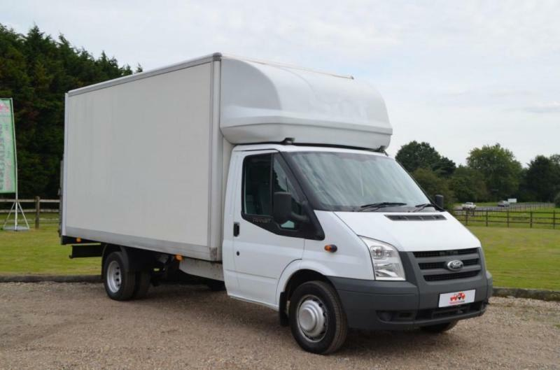 46fc642873 2013 13 FORD TRANSIT 2.2 TDCI T350 125 BHP DRW LONG WHEEL BASE LUTON WITH  TAIL L