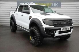 2012 Ford Ranger Pick Up Double Cab seeker RAPTOR edition 2.2 TDCi over £65...