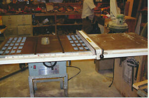 King 10-inch table saw, brand-new motor