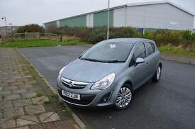 2012 12 VAUXHALL CORSA 1.4 Excite 5dr [AC] in Silver La