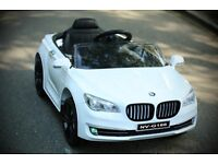 Kids Electric Car BMW Style 12v, Remote, Mp3, Opening doors, Lights