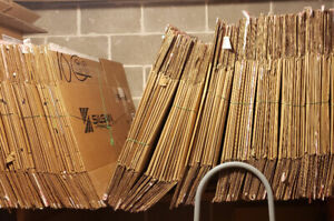 BB3 : $0.75 Boîtes Commercial de Carton déménagement. Rive Sud