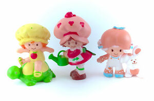 1981 Strawberry Shortcake PVC Lot Minis Miniatures Figures