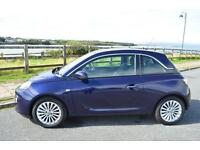 2015 65 VAUXHALL ADAM 1.2i Glam 3dr in Pump Up The Blue