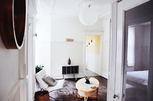 Charming old school apartment with character (Outremont)