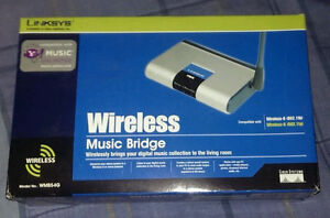 WiFi music bridge