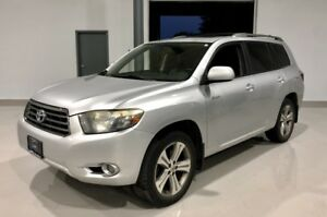 2008 Toyota Highlander 4WD Sport Leather and Sunroof 7 Passenger