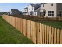 Picket Fence Pales Pointed Pales Round Top Picket Fence Panels 3ft 900mm 4ft 1.2m Treated