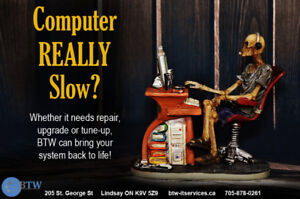 Computer REALLY Slow?