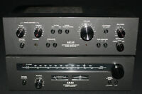 Akai AM-2200 Stereo Amplifier & AT-2200 Tuner