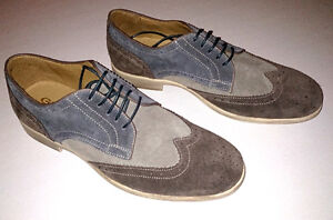 New $225 Geox Mens Oxford Suede Loafers Shoes SIze 9 us 42 eur