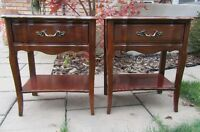 Vintage Malcolm Nightstands (pair)