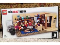 Lego Big Bang Theory New