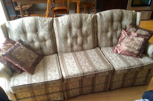 Perfect condition couch set