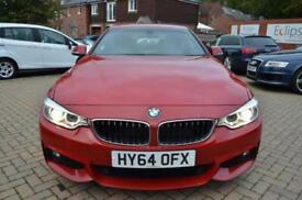 2014 64 BMW 4 SERIES 3.0 430D M SPORT 2D AUTO 255 BHP DIESEL