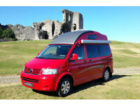 2009 '09' LEISURE DRIVE VIVANTE CAMPER VAN ON VW TRANSPORTER T28. 31,400 MILES!