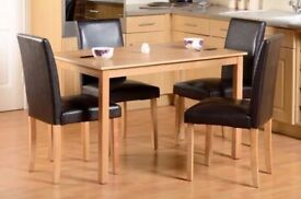 Oakmere Dining Table Set with 4 or 6 chairs
