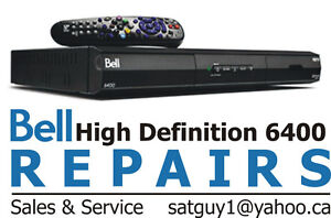 BELL RECEIVER REPAIRS PVR 9242 9241 9400 and 6400