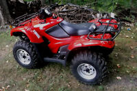 NEW (75KMS) 2014 HONDA 420 4X4 CANADIAN TRAIL (GPS, EPS, IRS)