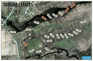Perth Estate Lots on Tay River!!!