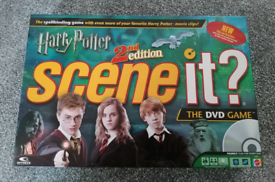 Harry Potter Scene It 2nd Edition