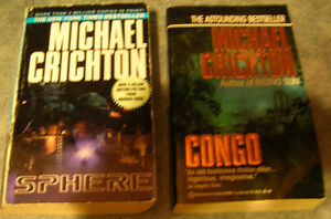 Michael Crichton Novels