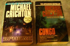 Michael Crichton Novels