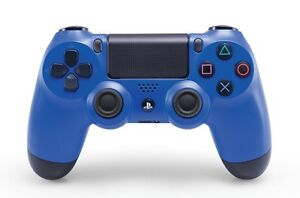 Ps4 Blue Controller with Nyko Power Pack and Ps4 Camera