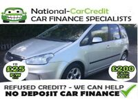 Ford C-Max 1.6I ZETEC 100PS Good / Bad Credit Car Finance (silver) 2008