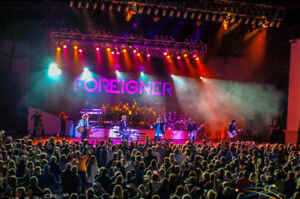 FOREIGNER / PINK FLOYD EXP. - AMAZING FRONT ROW FLOOR SEATS !!!