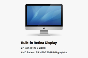 great working 2016 27Inch Imac for sell