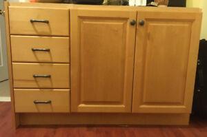 Bathroom Vanity cabinet, 21x47-31 1/2 height