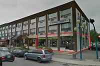 ESPACE COMMERCIAL A LOUER / COMMERCIAL SPACE FOR LEASE