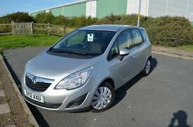 2012 12 VAUXHALL MERIVA 1.4T 16V Exclusiv 5dr in Silver
