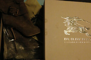 Burberry Trench Buckle Ankle Boots Kitchener / Waterloo Kitchener Area image 1