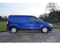 2014 64 FORD TRANSIT CONNECT 1.6 TDCI 240 TREND L2 LONG WHEEL BASE PANEL VAN 115