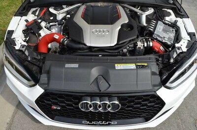 Injen SES Wrinkle Red Intercooler Pipes Kit for 2018-2019 Audi B9 S4 and S5 Injen Intercooler Kits
