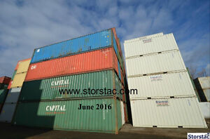 Used 40' Cargo Worthy Storage / Shipping Containers $1825