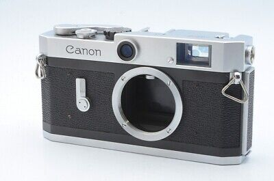 Excellent Canon P Rangefinder 35mm Film Camera Body From Japan 117134