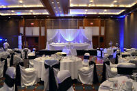 Wedding decorations and linen rentals