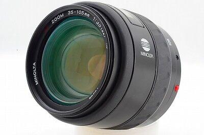 Объективы Minolta AF ZOOM 35-105mm F3.5(22)-4.5