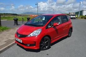 2012 62 HONDA JAZZ 1.4 i-VTEC Si 5dr in Red