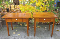 Primitive Canadiana Farm Tables