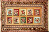 Brand New Hand Knotted Oriental Rug-wall hanging.With Tags