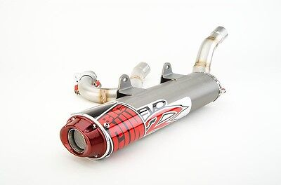 Big Gun EVO R Full Exhaust Pipe Muffler Polaris Outlaw 525 IRS 2007 - 2011