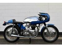 1971 Triton 650cc Classic Cafe Racer - Pre Unit T120 Bonneville Engine - Norton