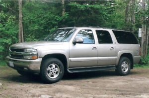 2002 LT Chevy Suburban SAFTEFIED!